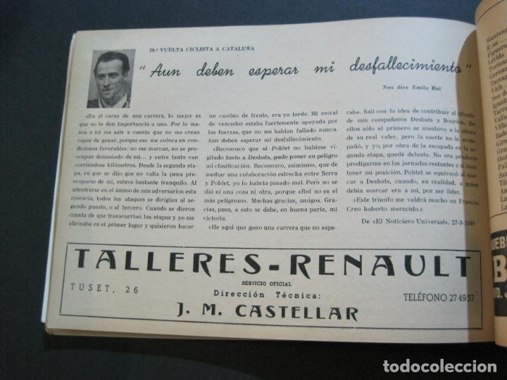 Coleccionismo deportivo: CICLISMO-XXX VUELTA CICLISTA A CATALUÑA-PREMIO PIRELLI-AÑO 1950-PROGRAMA ANTIGUO-VER FOTOS-(K-1001) - Foto 30 - 224248585