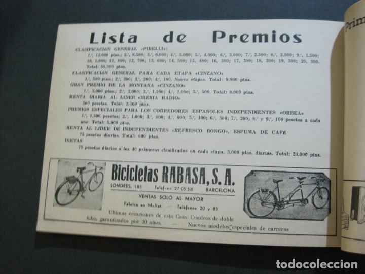 Coleccionismo deportivo: CICLISMO-XXX VUELTA CICLISTA A CATALUÑA-PREMIO PIRELLI-AÑO 1950-PROGRAMA ANTIGUO-VER FOTOS-(K-1001) - Foto 32 - 224248585