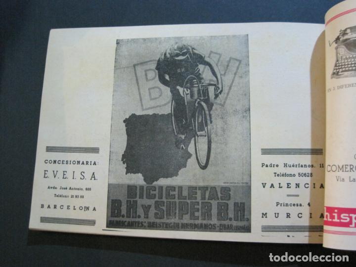 Coleccionismo deportivo: CICLISMO-XXX VUELTA CICLISTA A CATALUÑA-PREMIO PIRELLI-AÑO 1950-PROGRAMA ANTIGUO-VER FOTOS-(K-1001) - Foto 33 - 224248585