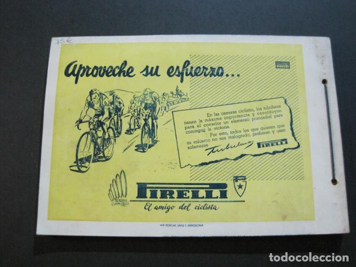 Coleccionismo deportivo: CICLISMO-XXX VUELTA CICLISTA A CATALUÑA-PREMIO PIRELLI-AÑO 1950-PROGRAMA ANTIGUO-VER FOTOS-(K-1001) - Foto 35 - 224248585