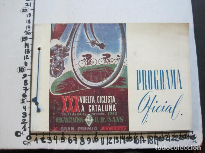 Coleccionismo deportivo: CICLISMO-XXX VUELTA CICLISTA A CATALUÑA-PREMIO PIRELLI-AÑO 1950-PROGRAMA ANTIGUO-VER FOTOS-(K-1001) - Foto 36 - 224248585