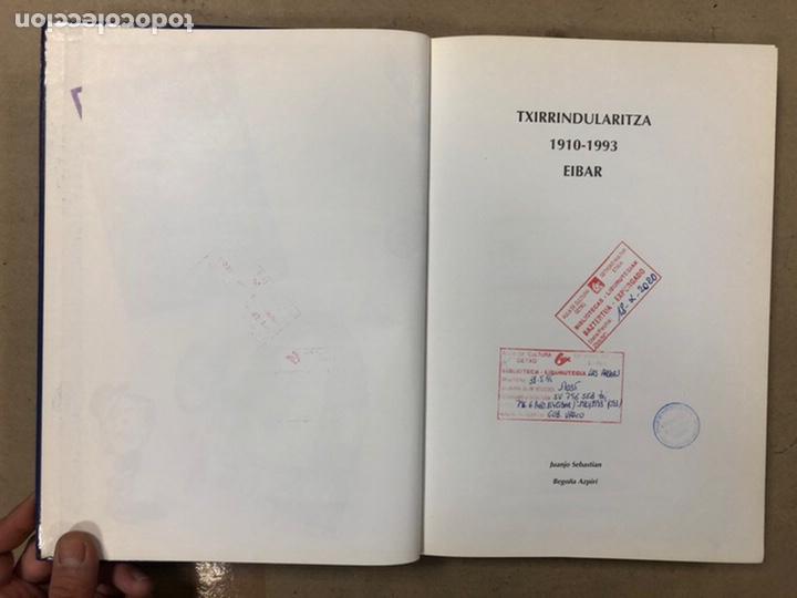 Coleccionismo deportivo: TXIRRINDULARITZA EIBAR (1910 - 1993). JUANJO SEBASTIÁN - BEGOÑA AZPIRI. CLUB CICLISTA EIBARRES 1994. - Foto 3 - 224307368