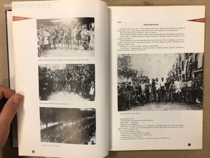 Coleccionismo deportivo: TXIRRINDULARITZA EIBAR (1910 - 1993). JUANJO SEBASTIÁN - BEGOÑA AZPIRI. CLUB CICLISTA EIBARRES 1994. - Foto 7 - 224307368