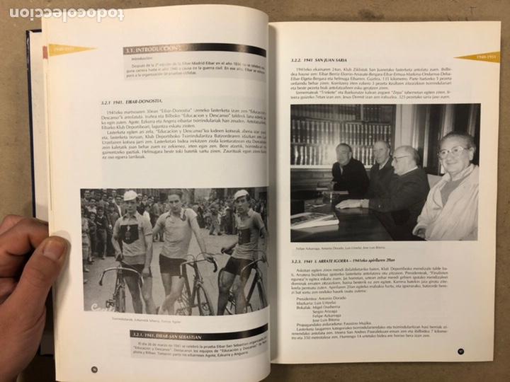 Coleccionismo deportivo: TXIRRINDULARITZA EIBAR (1910 - 1993). JUANJO SEBASTIÁN - BEGOÑA AZPIRI. CLUB CICLISTA EIBARRES 1994. - Foto 8 - 224307368
