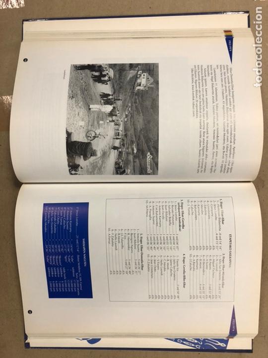 Coleccionismo deportivo: TXIRRINDULARITZA EIBAR (1910 - 1993). JUANJO SEBASTIÁN - BEGOÑA AZPIRI. CLUB CICLISTA EIBARRES 1994. - Foto 11 - 224307368