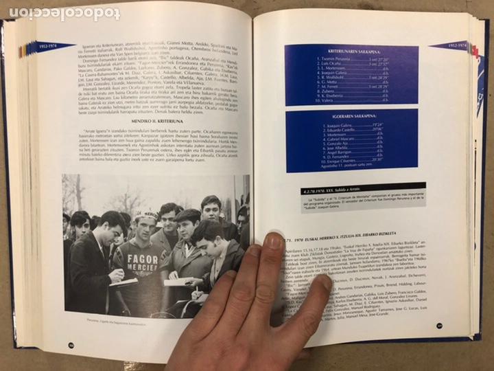 Coleccionismo deportivo: TXIRRINDULARITZA EIBAR (1910 - 1993). JUANJO SEBASTIÁN - BEGOÑA AZPIRI. CLUB CICLISTA EIBARRES 1994. - Foto 13 - 224307368