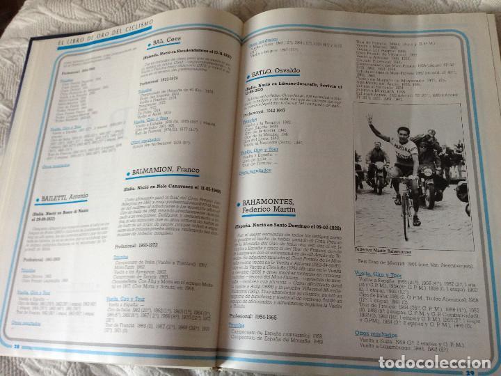 Coleccionismo deportivo: EL LIBRO DE ORO DEL CICLISMO - BANESTO 1991 - Foto 2 - 225210641