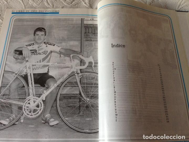 Coleccionismo deportivo: EL LIBRO DE ORO DEL CICLISMO - BANESTO 1991 - Foto 4 - 225210641