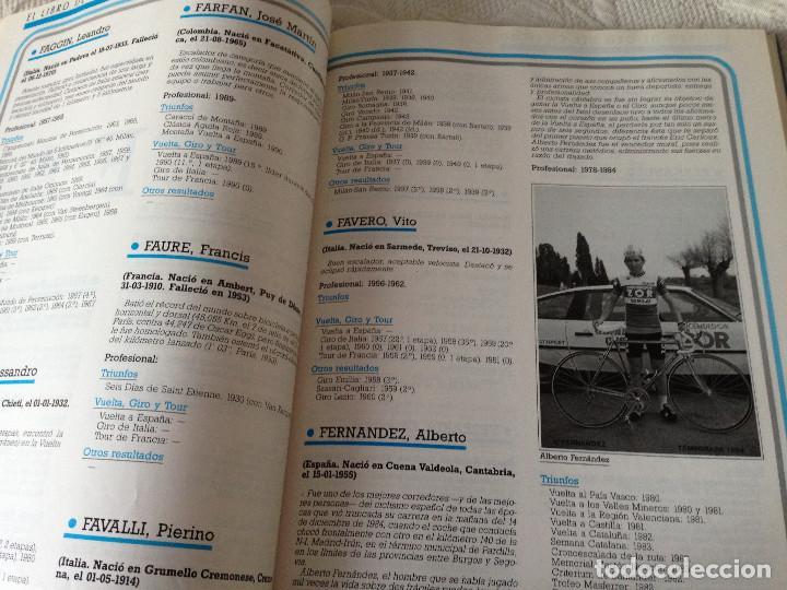 Coleccionismo deportivo: EL LIBRO DE ORO DEL CICLISMO - BANESTO 1991 - Foto 5 - 225210641