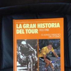 Colecionismo desportivo: LA GRAN HISTORIA DEL TOUR. Lote 227923550