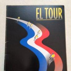 Coleccionismo deportivo: EL TOUR, EL PAÍS ( 17 LÁMINAS - COMPLETO ). Lote 228501100