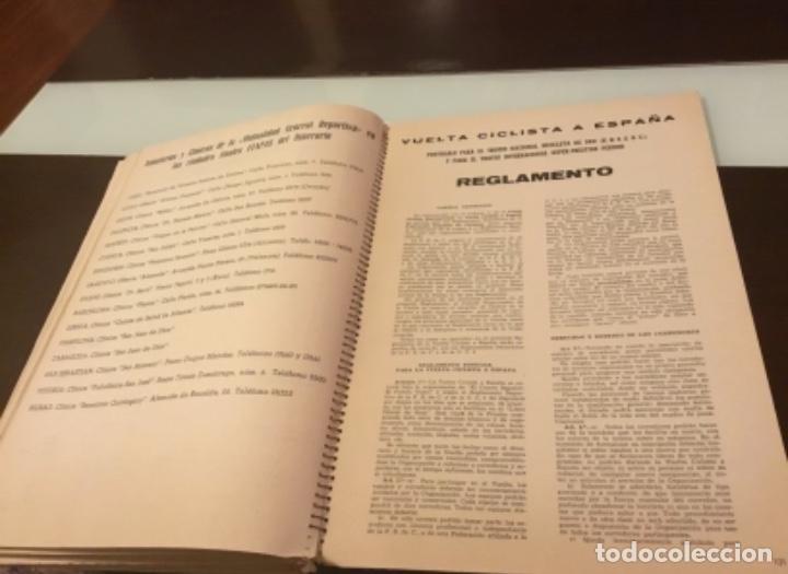 Coleccionismo deportivo: Dificil libro de ruta de la Vuelta ciclista España 1965,Regalo partes de carrera mirar las fotos - Foto 5 - 229466840