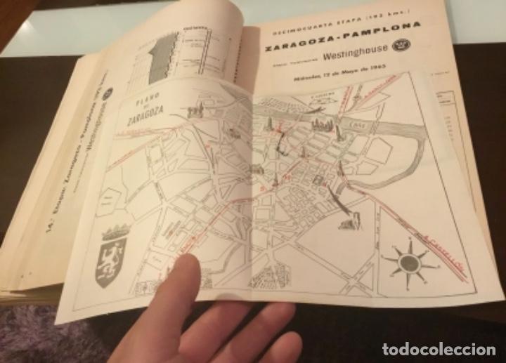Coleccionismo deportivo: Dificil libro de ruta de la Vuelta ciclista España 1965,Regalo partes de carrera mirar las fotos - Foto 6 - 229466840