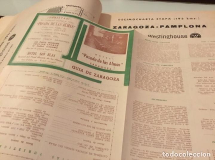Coleccionismo deportivo: Dificil libro de ruta de la Vuelta ciclista España 1965,Regalo partes de carrera mirar las fotos - Foto 7 - 229466840