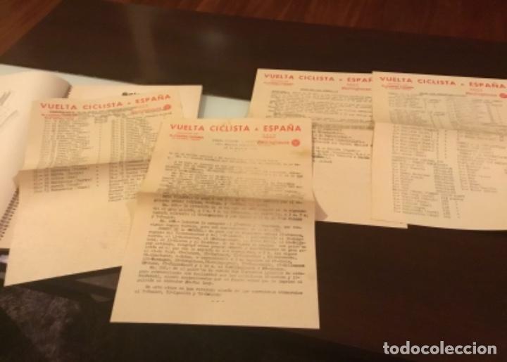 Coleccionismo deportivo: Dificil libro de ruta de la Vuelta ciclista España 1965,Regalo partes de carrera mirar las fotos - Foto 10 - 229466840