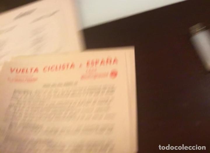 Coleccionismo deportivo: Dificil libro de ruta de la Vuelta ciclista España 1965,Regalo partes de carrera mirar las fotos - Foto 11 - 229466840