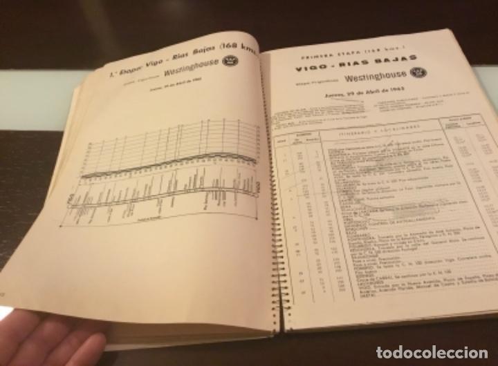 Coleccionismo deportivo: Dificil libro de ruta de la Vuelta ciclista España 1965,Regalo partes de carrera mirar las fotos - Foto 13 - 229466840