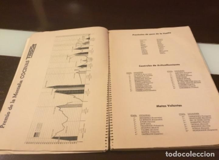Coleccionismo deportivo: Dificil libro de ruta de la Vuelta ciclista España 1965,Regalo partes de carrera mirar las fotos - Foto 15 - 229466840
