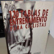 Coleccionismo deportivo: 120 TABLAS DE ENTRENAMIENTO PARA CICLISTAS - VEDANA, FABIO. Lote 230531590