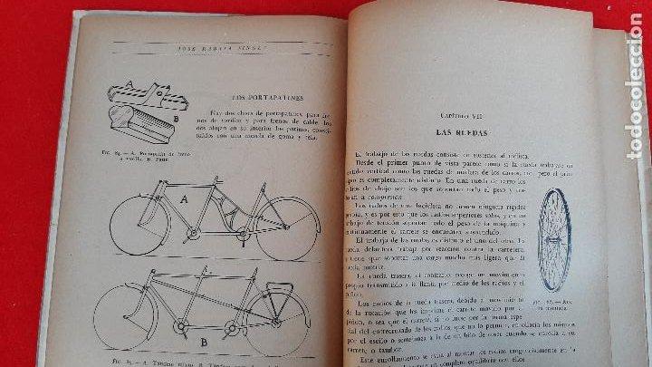 Coleccionismo deportivo: LIBRO CICLIMO LA BICICLETA J RABASA SINGLA 1947 ORIGINAL - Foto 2 - 234662985