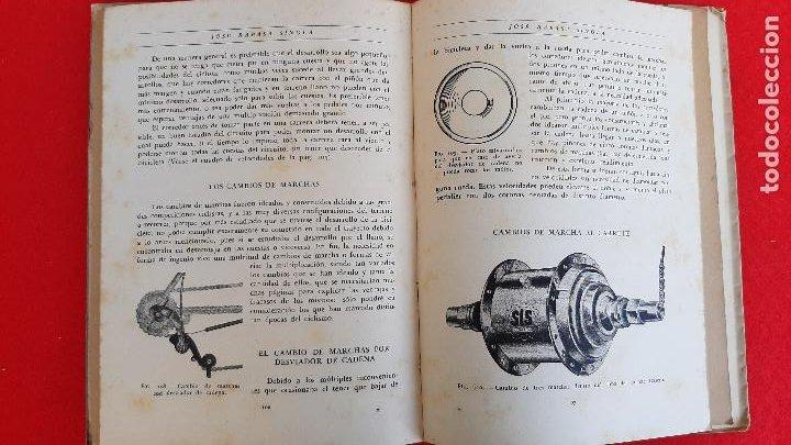 Coleccionismo deportivo: LIBRO CICLIMO LA BICICLETA J RABASA SINGLA 1947 ORIGINAL - Foto 3 - 234662985