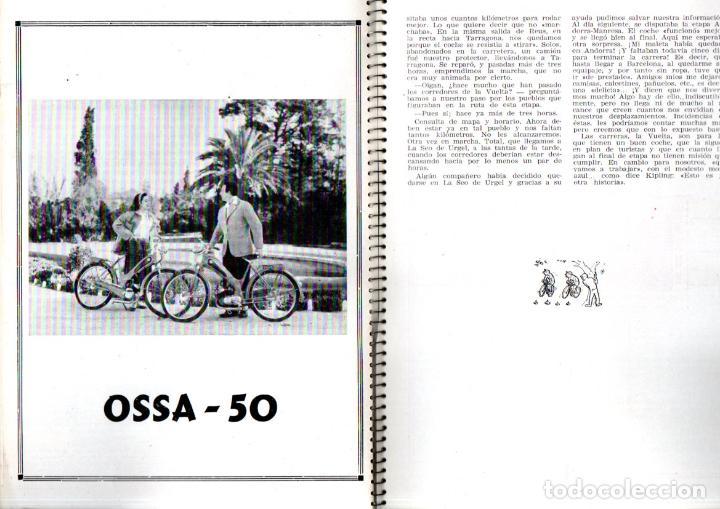 Coleccionismo deportivo: VUELTA CICLISTA A ESPAÑA 1955 - 120 PÁGINAS - PUBLICIDAD BISCUTER, COCA-COLA.... - Foto 4 - 236112470