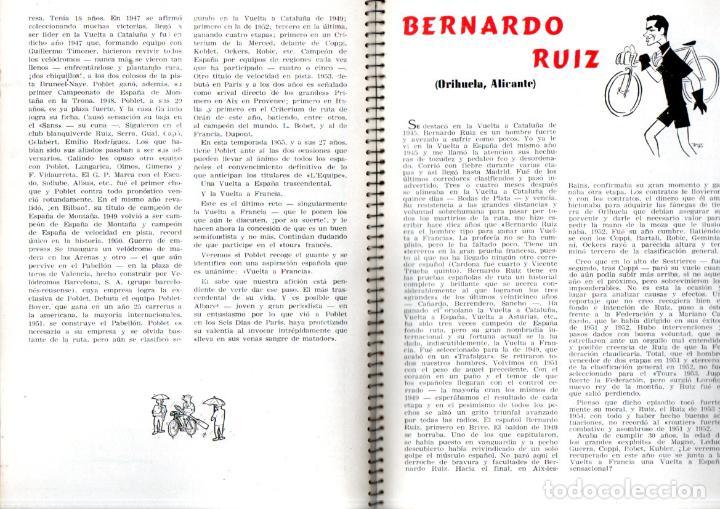 Coleccionismo deportivo: VUELTA CICLISTA A ESPAÑA 1955 - 120 PÁGINAS - PUBLICIDAD BISCUTER, COCA-COLA.... - Foto 5 - 236112470