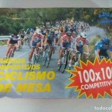 Coleccionismo deportivo: JUEGOS DEPORTIVOS/CICLISMO DE MESA/MORTIROLO-TOURMALET-LAGOS DE COVADONGA.. Lote 245544265
