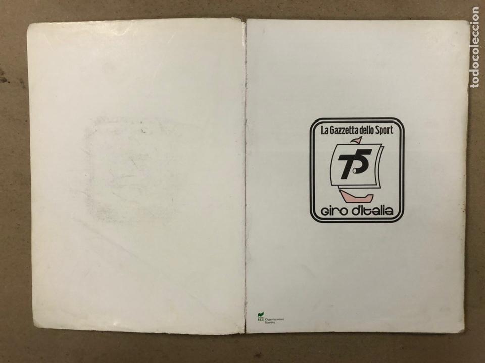 Coleccionismo deportivo: 75° GIRO DE ITALIA 1992. LIBRO OFICIAL DE RUTA. - Foto 2 - 246707905