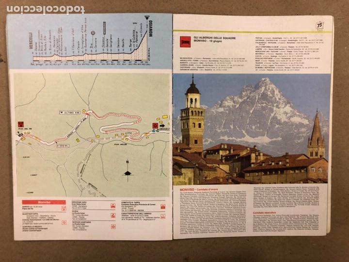 Coleccionismo deportivo: 75° GIRO DE ITALIA 1992. LIBRO OFICIAL DE RUTA. - Foto 12 - 246707905