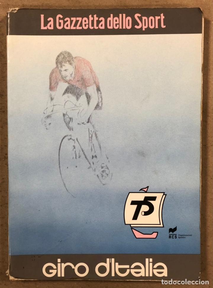 75° GIRO DE ITALIA 1992. LIBRO OFICIAL DE RUTA. (Coleccionismo Deportivo - Libros de Ciclismo)