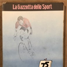 Coleccionismo deportivo: 75° GIRO DE ITALIA 1992. LIBRO OFICIAL DE RUTA.. Lote 246707905
