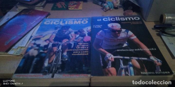 2 LIBROS: EL CICLISMO ASPECTOS TECNICOS Y MEDICOS Y CORRER Y COMPETIR EN CICLISMO (Coleccionismo Deportivo - Libros de Ciclismo)