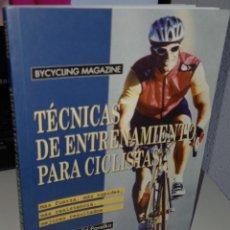 Coleccionismo deportivo: TÉCNICAS DE ENTRENAMIENTO PARA CICLISTAS - PAVELKA, ED. Lote 251870545