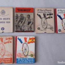 Coleccionismo deportivo: EL TOUR DE FRANCIA Y LA VUELTA CICLISTA A ESPAÑA 1956-1957-1958 - EDICIONES DEPORTIVAS DINÁMICO. Lote 251988335