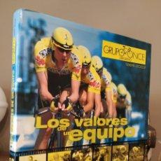 Coleccionismo deportivo: LOS VALORES DE UN EQUIPO. GRUPO ONCE DEPORTIVO. 1989 – 2003. HISTORIA DE UNA SUPERACIÓN PERMANENTE.. Lote 253088165