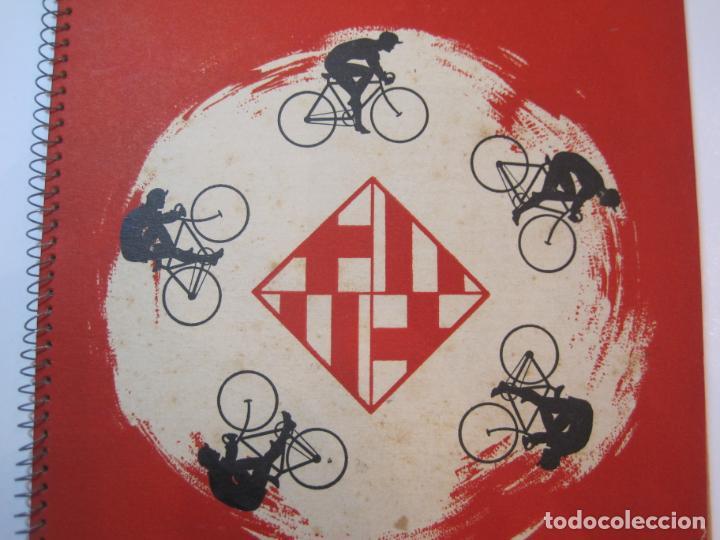 Coleccionismo deportivo: CICLISMO-IX CINTURON DE BARCELONA-2º GRAN PREMIO CICLOMOTORES MOBYLETTE-AÑO 1956-VER FOTOS-(K-2347) - Foto 4 - 255000300