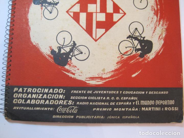 Coleccionismo deportivo: CICLISMO-IX CINTURON DE BARCELONA-2º GRAN PREMIO CICLOMOTORES MOBYLETTE-AÑO 1956-VER FOTOS-(K-2347) - Foto 5 - 255000300
