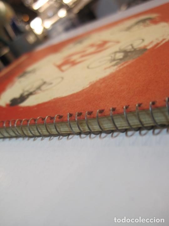 Coleccionismo deportivo: CICLISMO-IX CINTURON DE BARCELONA-2º GRAN PREMIO CICLOMOTORES MOBYLETTE-AÑO 1956-VER FOTOS-(K-2347) - Foto 6 - 255000300