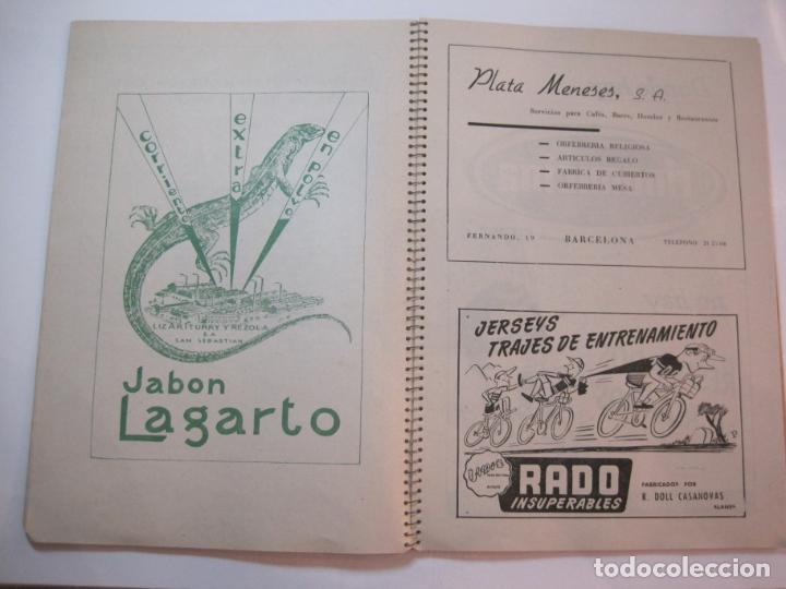 Coleccionismo deportivo: CICLISMO-IX CINTURON DE BARCELONA-2º GRAN PREMIO CICLOMOTORES MOBYLETTE-AÑO 1956-VER FOTOS-(K-2347) - Foto 14 - 255000300
