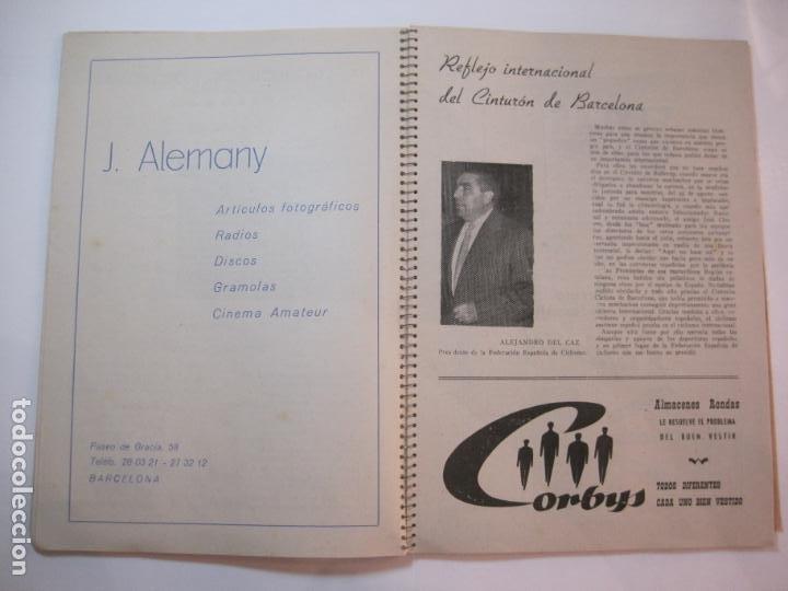 Coleccionismo deportivo: CICLISMO-IX CINTURON DE BARCELONA-2º GRAN PREMIO CICLOMOTORES MOBYLETTE-AÑO 1956-VER FOTOS-(K-2347) - Foto 18 - 255000300