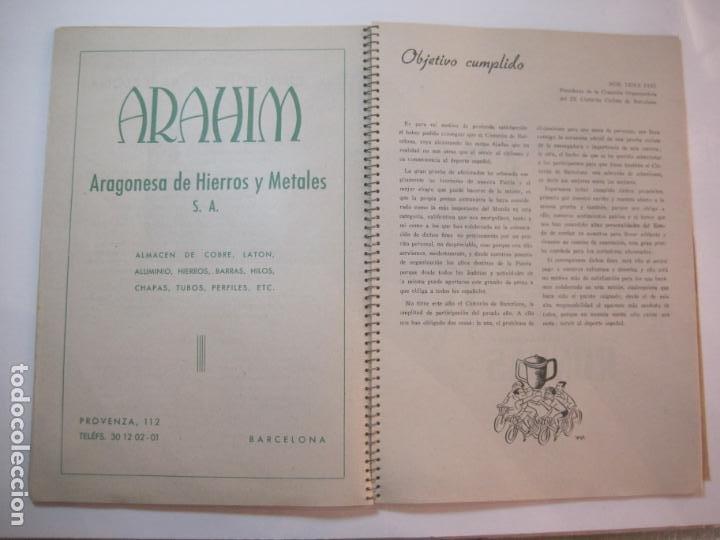 Coleccionismo deportivo: CICLISMO-IX CINTURON DE BARCELONA-2º GRAN PREMIO CICLOMOTORES MOBYLETTE-AÑO 1956-VER FOTOS-(K-2347) - Foto 22 - 255000300