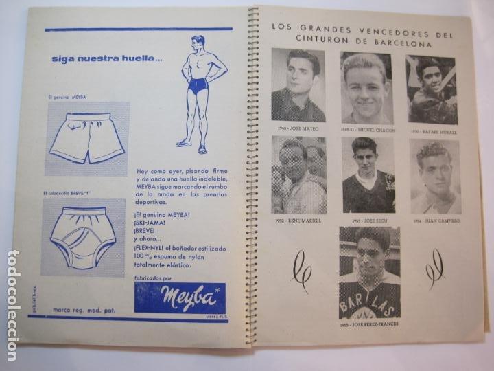 Coleccionismo deportivo: CICLISMO-IX CINTURON DE BARCELONA-2º GRAN PREMIO CICLOMOTORES MOBYLETTE-AÑO 1956-VER FOTOS-(K-2347) - Foto 28 - 255000300