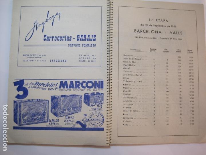 Coleccionismo deportivo: CICLISMO-IX CINTURON DE BARCELONA-2º GRAN PREMIO CICLOMOTORES MOBYLETTE-AÑO 1956-VER FOTOS-(K-2347) - Foto 30 - 255000300