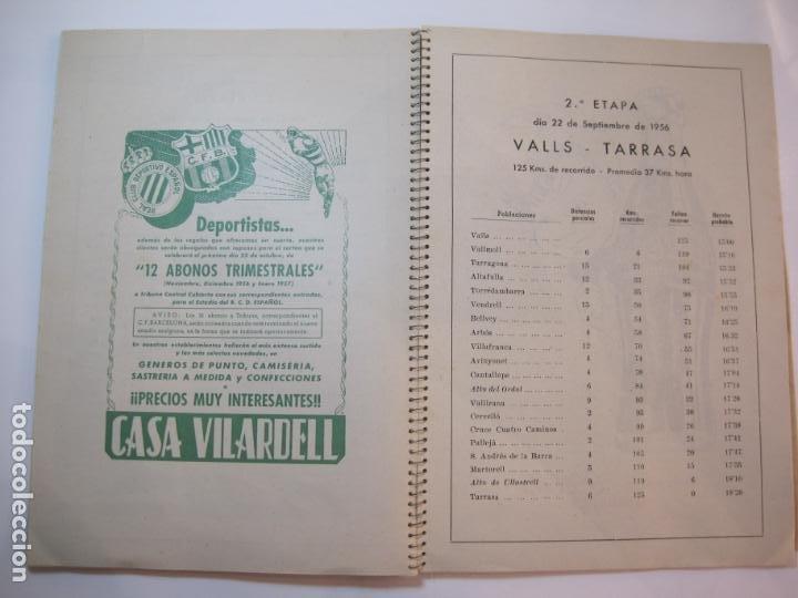 Coleccionismo deportivo: CICLISMO-IX CINTURON DE BARCELONA-2º GRAN PREMIO CICLOMOTORES MOBYLETTE-AÑO 1956-VER FOTOS-(K-2347) - Foto 31 - 255000300
