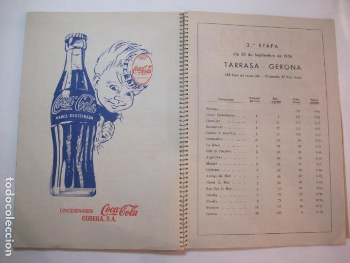 Coleccionismo deportivo: CICLISMO-IX CINTURON DE BARCELONA-2º GRAN PREMIO CICLOMOTORES MOBYLETTE-AÑO 1956-VER FOTOS-(K-2347) - Foto 32 - 255000300