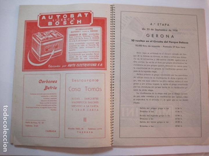 Coleccionismo deportivo: CICLISMO-IX CINTURON DE BARCELONA-2º GRAN PREMIO CICLOMOTORES MOBYLETTE-AÑO 1956-VER FOTOS-(K-2347) - Foto 33 - 255000300