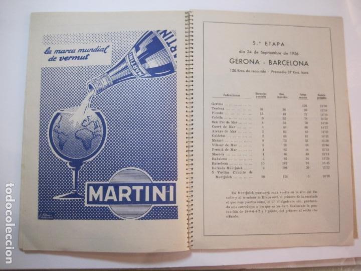 Coleccionismo deportivo: CICLISMO-IX CINTURON DE BARCELONA-2º GRAN PREMIO CICLOMOTORES MOBYLETTE-AÑO 1956-VER FOTOS-(K-2347) - Foto 34 - 255000300