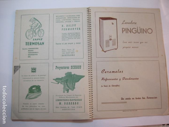 Coleccionismo deportivo: CICLISMO-IX CINTURON DE BARCELONA-2º GRAN PREMIO CICLOMOTORES MOBYLETTE-AÑO 1956-VER FOTOS-(K-2347) - Foto 38 - 255000300