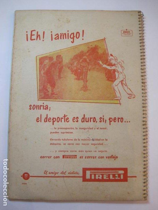 Coleccionismo deportivo: CICLISMO-IX CINTURON DE BARCELONA-2º GRAN PREMIO CICLOMOTORES MOBYLETTE-AÑO 1956-VER FOTOS-(K-2347) - Foto 40 - 255000300